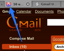 how to clear unread messages in gmail